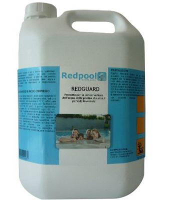 REDGUARD svernante per piscina (antialghe, anticalcare) lt 5